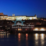 3-hour cruise - Vltava River and Prague Castle at night, Czech Republic